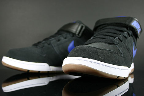 Nike Air Twilight Mid Black Drenched Blue Inside