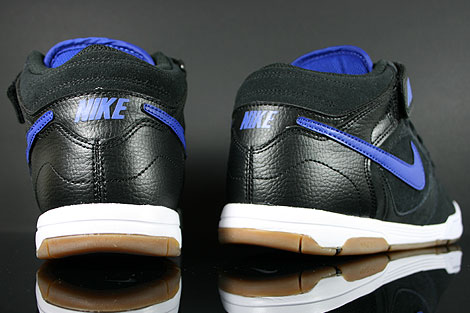 Nike Air Twilight Mid Black Drenched Blue Over view