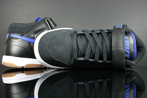 Nike Air Twilight Mid Black Drenched Blue Outsole