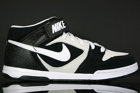 Nike Air Twilight Mid Black White Platinum Right