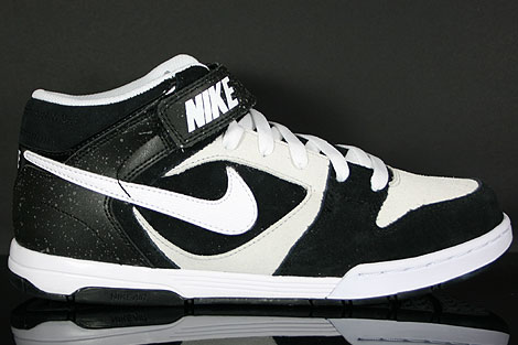 Nike Air Twilight Mid Black White Platinum Profile