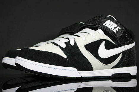 Nike Air Twilight Mid Black White Platinum Sidedetails