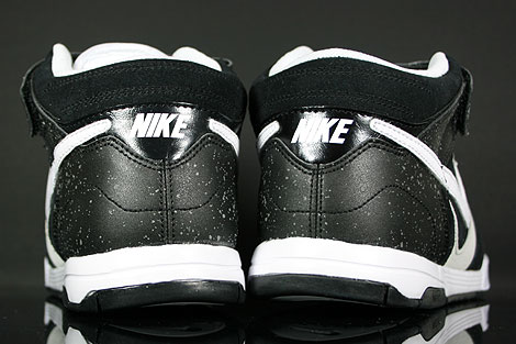 Nike Air Twilight Mid Black White Platinum Over view