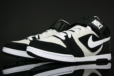 Nike Air Twilight Mid Black White Platinum Shoebox