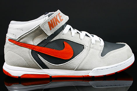 Nike Air Twilight Mid Grey Orange Anthracite White