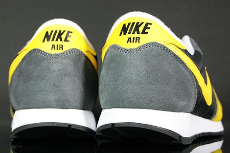 Nike Air Vengeance Schwarz Gelb Grau Weiss Schuhkarton