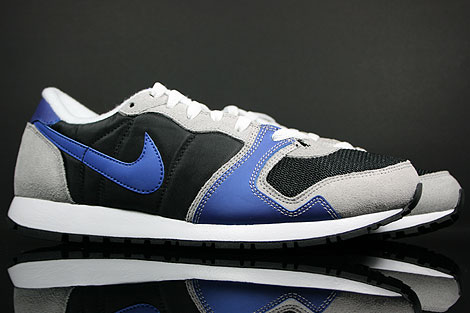 Nike Air Vengeance Black Varsity Royal Grey Silver Sidedetails