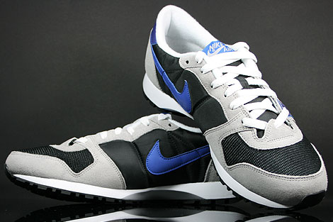 Nike Air Vengeance Black Varsity Royal Grey Silver Back view