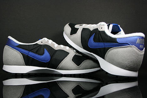 Nike Air Vengeance Black Varsity Royal Grey Silver Over view
