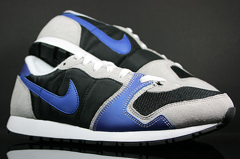 Nike Air Vengeance Black Varsity Royal Grey Silver Outsole