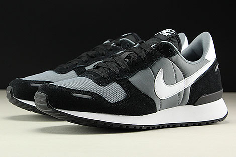 Nike Air Vortex Black White Cool Grey Sidedetails
