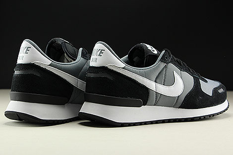 Nike Air Vortex Black White Cool Grey Back view