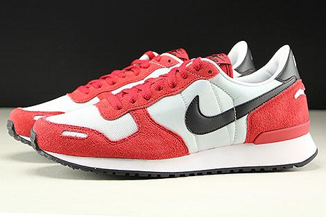 Nike Air Vortex Rot Schwarz Hellgrau Seitenansicht
