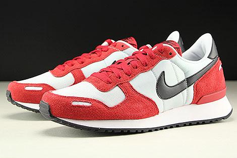 Nike Air Vortex Rot Schwarz Hellgrau Seitendetail