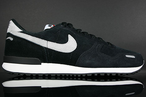 Nike Air Vortex Leather Black Metallic Silver Summit White