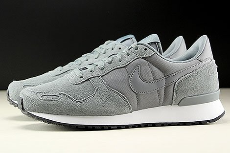 Nike Air Vortex Leather Cool Grey Cool Grey White Profile