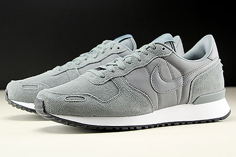 Nike Air Vortex Leather Cool Grey Cool Grey White Sidedetails