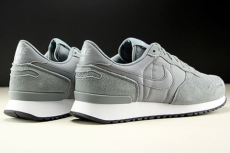 Nike Air Vortex Leather Cool Grey Cool Grey White Back view