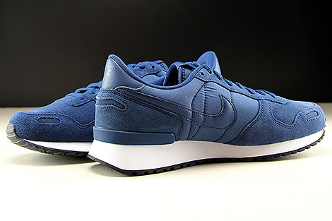 Nike Air Vortex Leather Navy White Black Inside