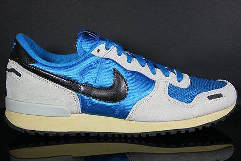 Nike Air Vortex Vintage Blau Grau Schwarz Beige Seitenansicht