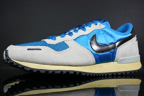 Nike Air Vortex Vintage Blau Grau Schwarz Beige Seitendetail
