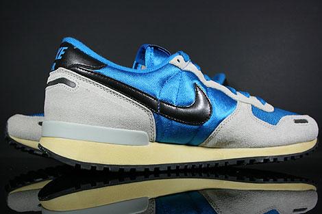 Nike Air Vortex Vintage Blau Grau Schwarz Beige Oberschuh