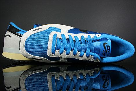 Nike Air Vortex Vintage Blau Grau Schwarz Beige Laufsohle