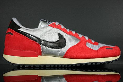 Nike Air Vortex Vintage Silber Schwarz Rot Beige