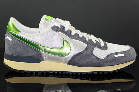Nike Air Vortex Vintage White Action Green Dark Grey