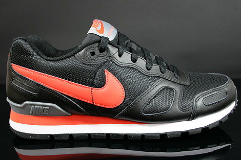Nike Air Waffle Trainer Black Team Orange White Grey