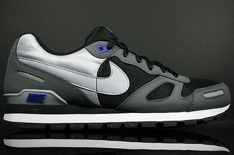 Nike Air Waffle Trainer Black Wolf Grey Dark Grey White