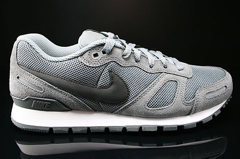 Nike Air Waffle Trainer Cool Grey Black Anthracite Base Grey Right