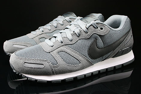 Nike Air Waffle Trainer Cool Grey Black Anthracite Base Grey Profile