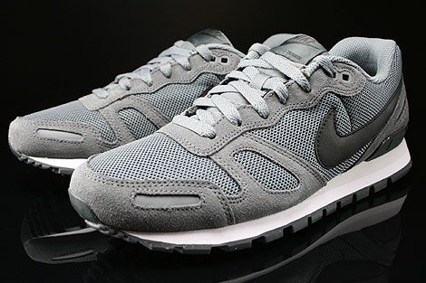 Nike Air Waffle Trainer Cool Grey Black Anthracite Base Grey Sidedetails