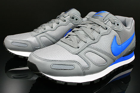Nike Air Waffle Trainer Cool Grey Soar White Black Sidedetails