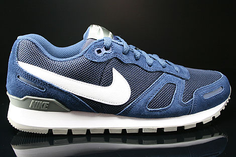Nike Air Waffle Trainer Midnight Navy White Base Grey