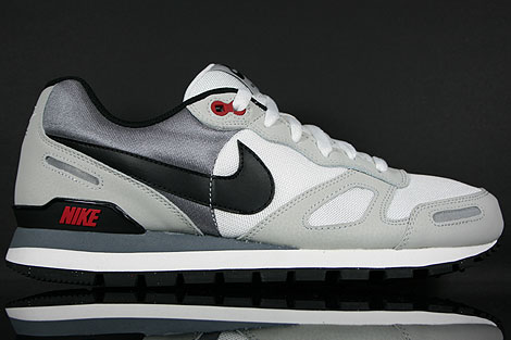 Nike Air Waffle Trainer White Black Red Grey