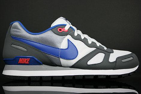 Nike Air Waffle Trainer White Royal Black Dark Grey