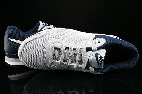 Nike Air Waffle Trainer Wolf Grey White Black Obsidian Over view