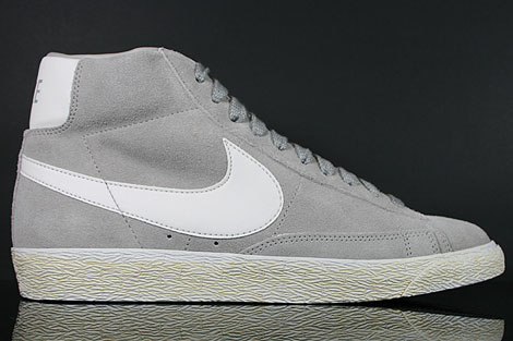Nike Blazer Mid Premium Medium Grey Neutral Grey