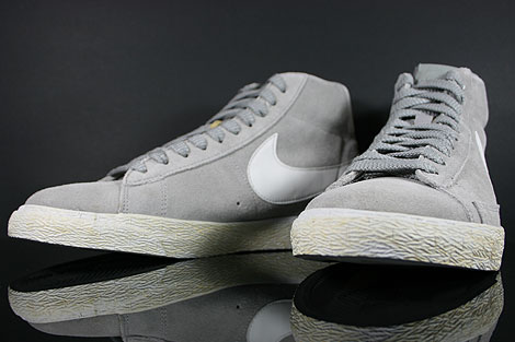 Nike Blazer Mid Premium Medium Grey Neutral Grey Inside