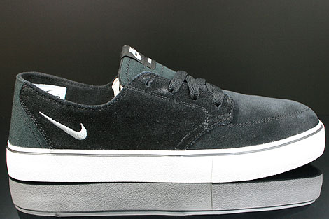 Nike Braata Leather Black White Silver