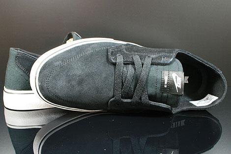Nike Braata Schwarz Weiss Silber Oberschuh