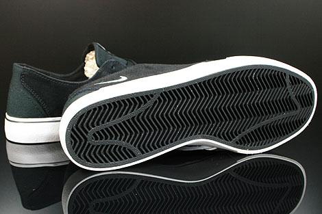 Nike Braata Schwarz Weiss Silber Laufsohle