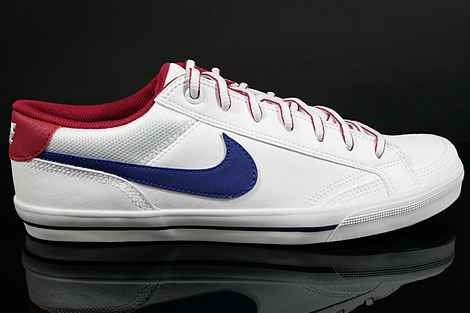 Nike Capri 2 White Royal Blue Legacy Red