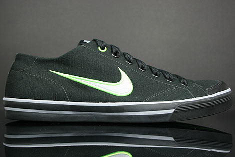 Nike Capri CNVS Black Stealth Electric Green
