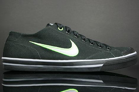Nike Capri CNVS Schwarz Grau Neon Gruen