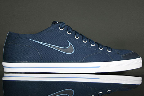Nike Capri CNVS Dunkelblau Blau Weiss