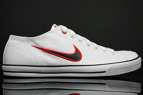Nike Capri CNVS White Black Challenge Red