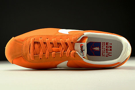Nike Classic Cortez Nylon AW Clay Orange Sail Black Over view